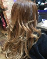 Brushing curls